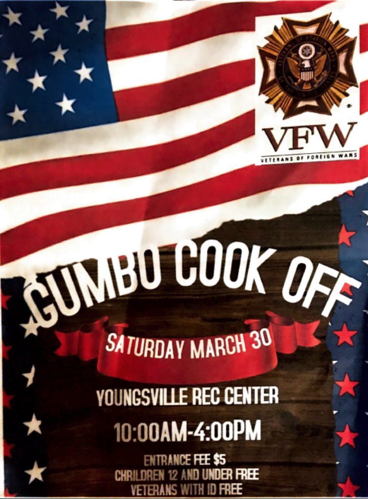 VFW Gumbo Cookoff @ Youngsville Sports Complex   Youngsville   Louisiana   United States