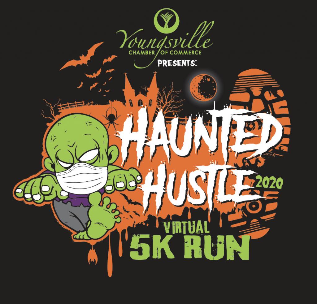 Youngsville Chamber Haunted Hustle Virtual 5K Run